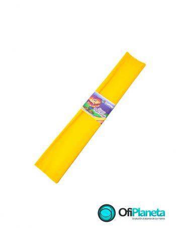 Papel Crepe Amarillo Mayka x10