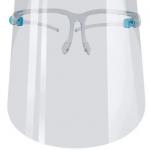 Caretas Facial con montura de lentes
